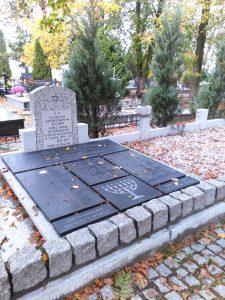 Konin cemetery memorial