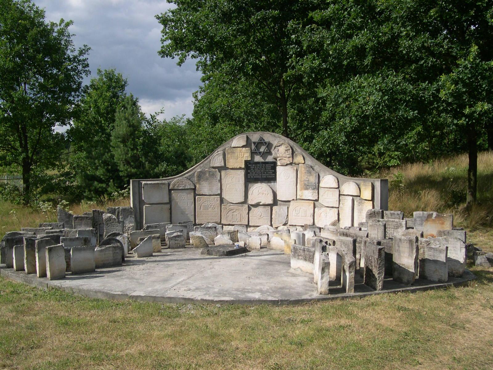 gombin jewish cemetery