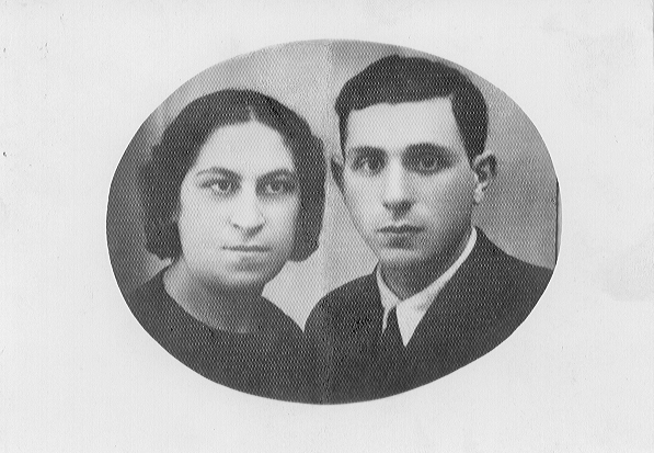 gombin society families mindy ballen prosperi father's sister and her husband (Hela and Lipa Blawat)