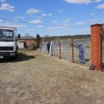 2020 - Gombin Jewish Cemetery Fence - Repair truck